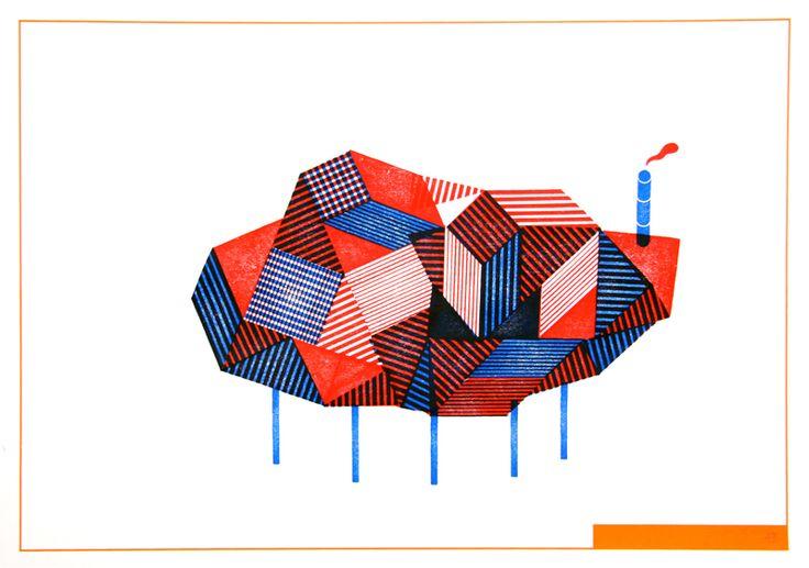 Aurélien Débat http://www.aureliendebat.fr/index.php?/project/plan-de-bataille/ Les clients/usagers disposent de tampons avec lesquelles ils sont libre de choix de faire leur propre architecture.