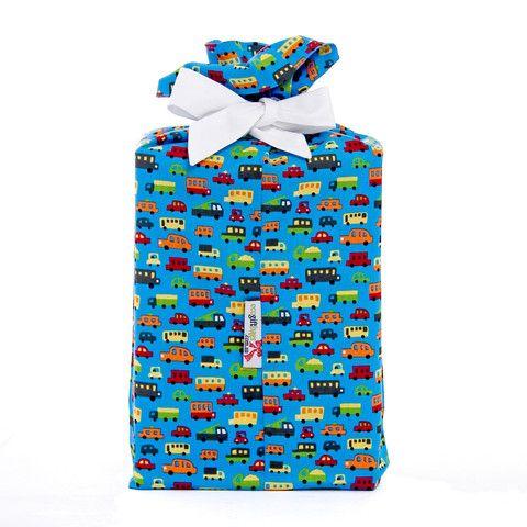 Blue Broom Broom eco gift bag (set of 3)