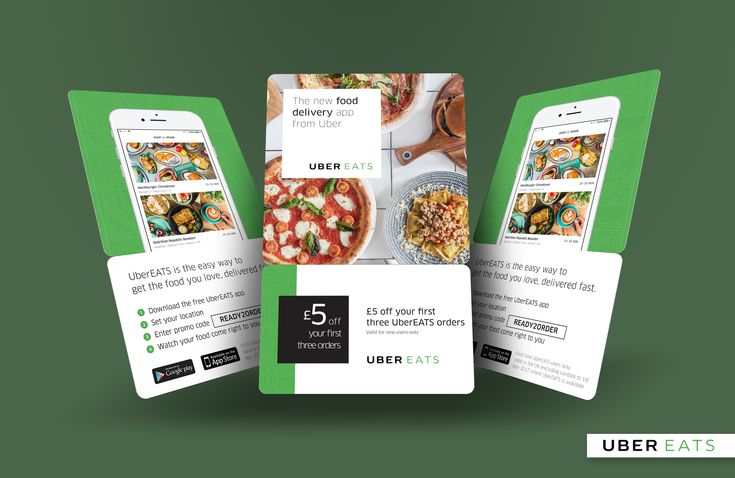 uber eats flyers Google Search Food delivery app