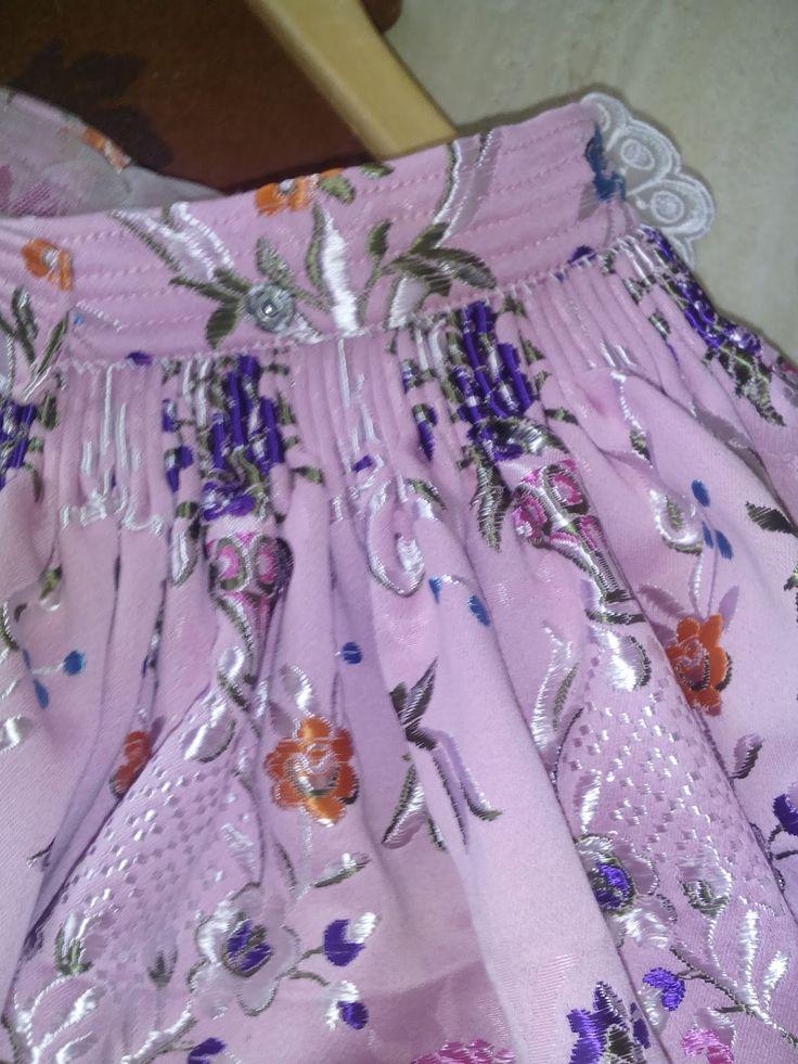 Eli&Art: Como coser Falda Fallera (confección paso a paso).