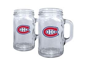 Montreal Canadian Mason Jar for beer #christmas #gift #bar #glassware #mancave