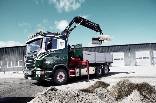 En av våra Kranbilar som vi utför Anläggningstransporter med. LBC Borås, Mark, Ulricehamn. http://www.lbc-boras.se