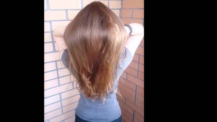 Волосы спустя 2 месяца после процедуры ботокса для волос Honma Tokyo