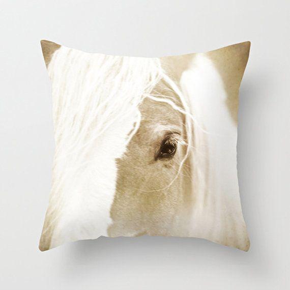 Horse Pillow Cover Throw Pillow Decoration 16 x 16 $37