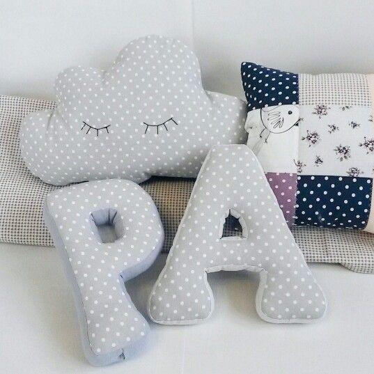 Буквы -подушки, подушка -сплюшка