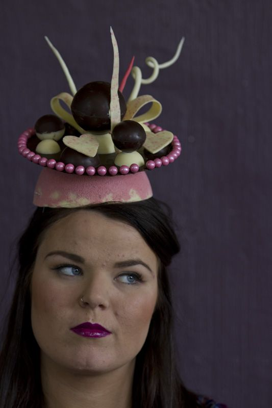 Yummy spring carnival chocolate icing hat! Joint effort between our hospitality and make up students. Learn how - www.chisholm.edu.au