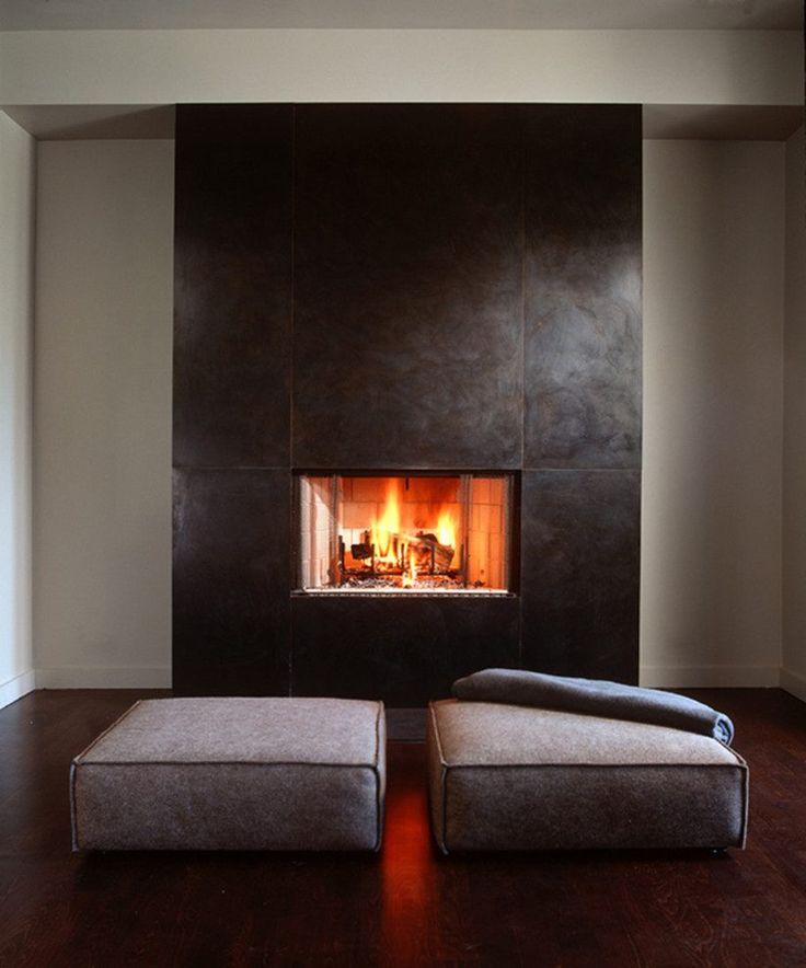 Fireplace surround kits living room modern with dark hardwood floors dark hardwood floors