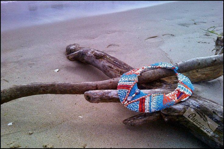 Papagena - handmade zone: Kolia boho/Necklace in boho chic