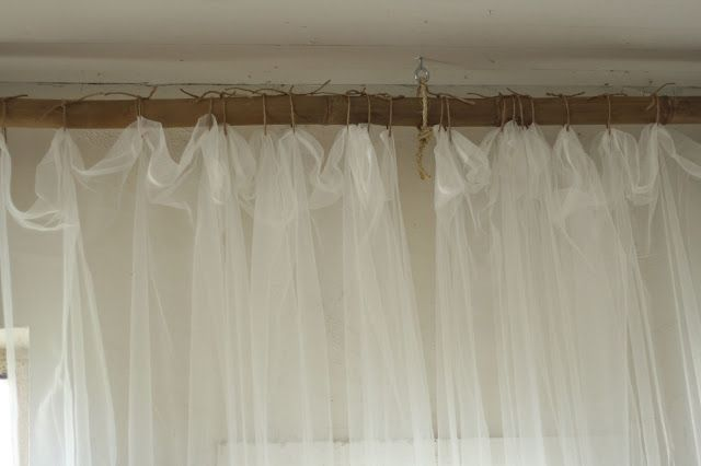 A Creative Way to Hang Curtains, and MORE Barn Photos
