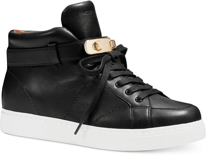 outlet store fb23d e3031  FashionLawFriday Fun, These COACH Richmond Sneakers Look Like the Buscemi  Hermes Inspi…   I need FASHION LAW   Look for less   Inspired or infringing