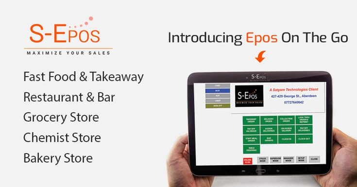 """We """"S-Epos"""" have been leading EPOS providers for 5 years in Aberdeen Scotland. We act as EPOS providers for all sectors. We specialise in retail & restaurants EPOS solutions. See more - https://www.s-epos.co.uk/retail-shop/  #RetailEpos #EposSolutions"""
