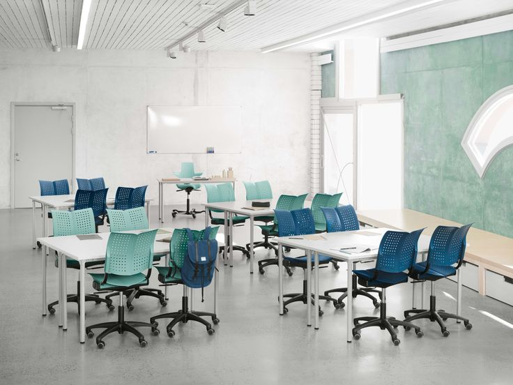 HÅG Conventio Wing for group projects and collaboration #education #InspireGreatWork #Scandinavian #design