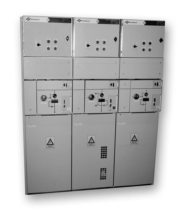 Electroalfa - Celule electrice de medie tensiune, în carcasa metalica