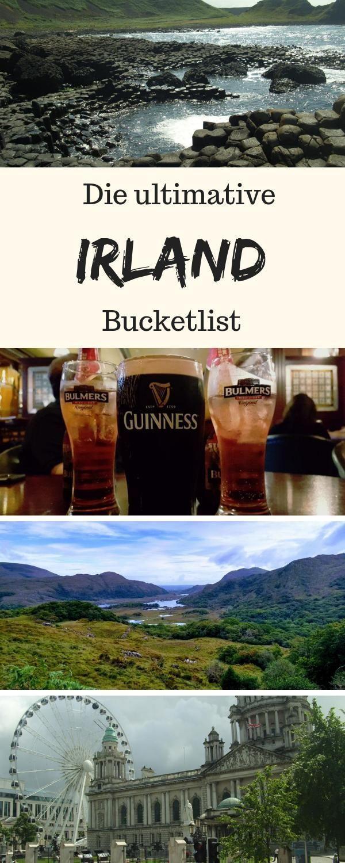 Irland Bucket List: Tipps zu Sehenswürdigkeiten & Reiseplanung