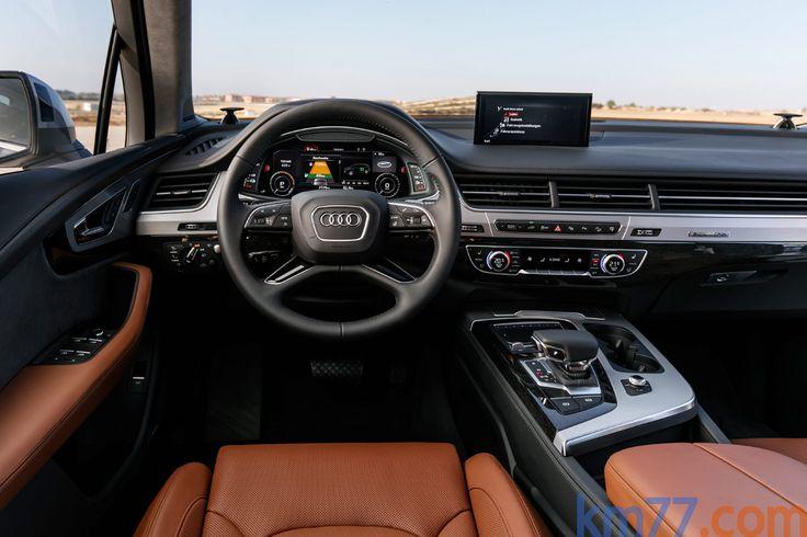 Audi Q7 e-tron 3.0 TDI quattro e-tron Todo terreno Interior Salpicadero 5 puertas