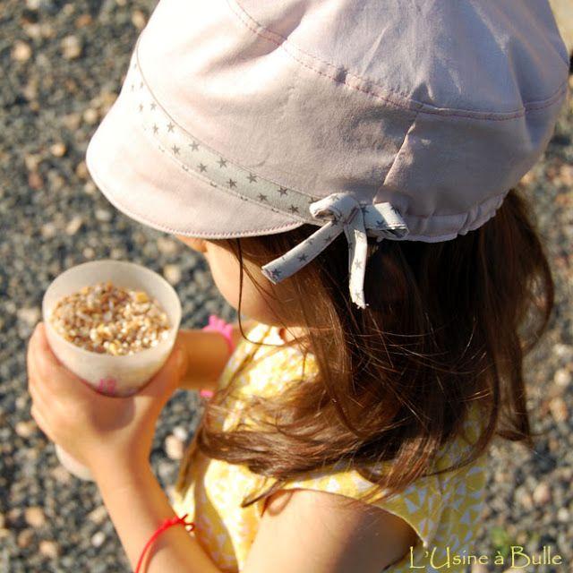 Tutoriel pour réaliser une casquette pour fillette. La forme peut être adaptable pour un garçon selon le choix du tissu. Bonne couture !