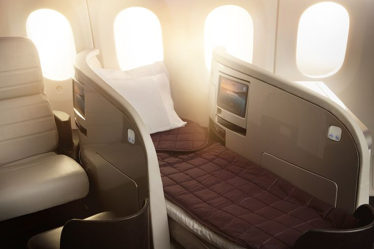 Boeing 787-9 Business Premier Lie Flat Bed For more information on Air New Zealand's new Boeing 787-9 visit http://www.airnewzealand.co.nz/futuretakingflight #AirNZ #787-9 #AirNewZealand #NewZealand