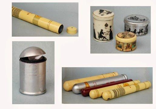 MINI DESIGN cake tins from cigar tubes