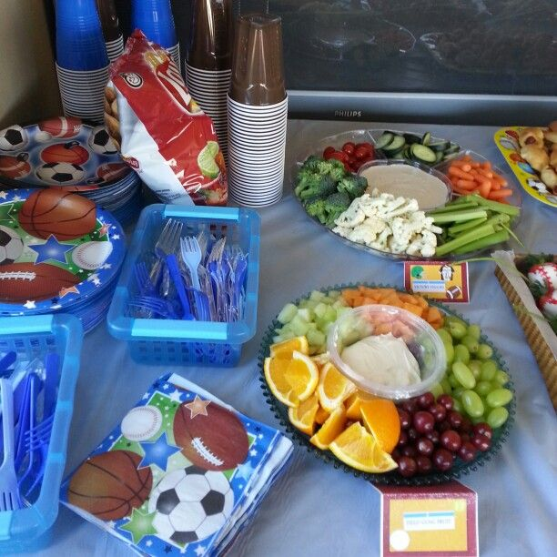 Sports Themed Baby Shower Food For Baby Shower I Hosted. Sports Theme Baby  Shower Food