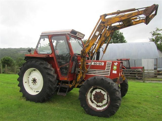 Fiat 80-90 Tractor at Ella Agri Tractor Sales Mid and West Wales
