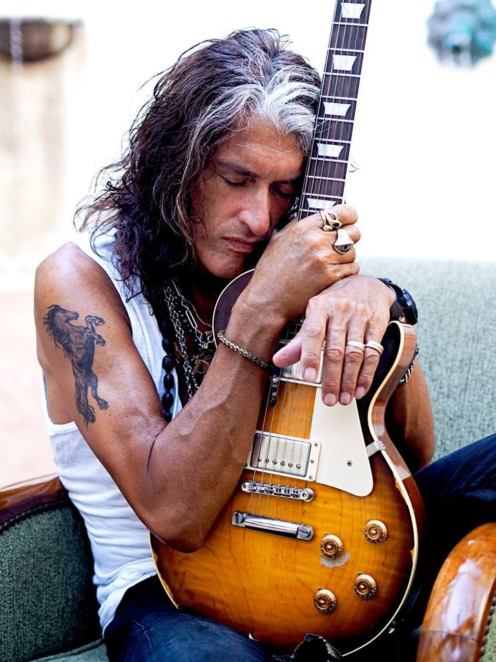 Joe Perry | Aerosmith, Photo: Ross Halfin