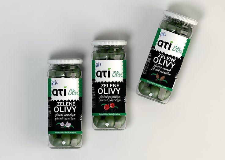 packaging design olive