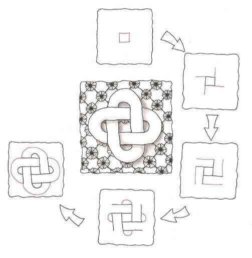 Celtic knot like doodle