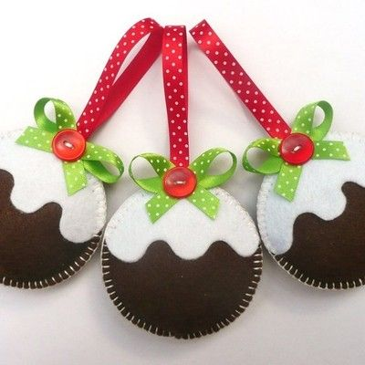 17 mejores im genes sobre fieltro navide o en pinterest for Decoracion navidena artesanal