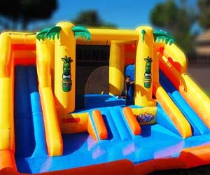 water slide bounce house - Water Slide Bounce House