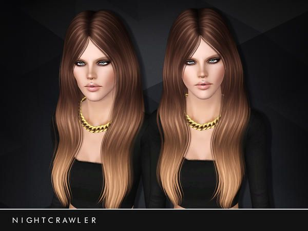 Long hair 16 for females by Nightcrawler – Sims 3 Downloads CC Caboodle