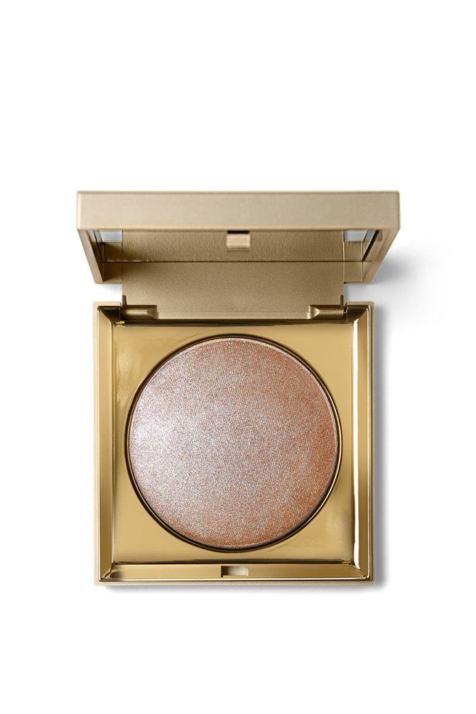 Stila's Heaven's Hue Highlighter in Kitten - Bouncy-to-the-touch, these unique, radiance-enhancing highlighters are gossamer-light and melt into skin for a barely-there feel.  Ultra-fine, light diffusing particles help skin look lit from within with a soft, luminous, natural-looking glow.