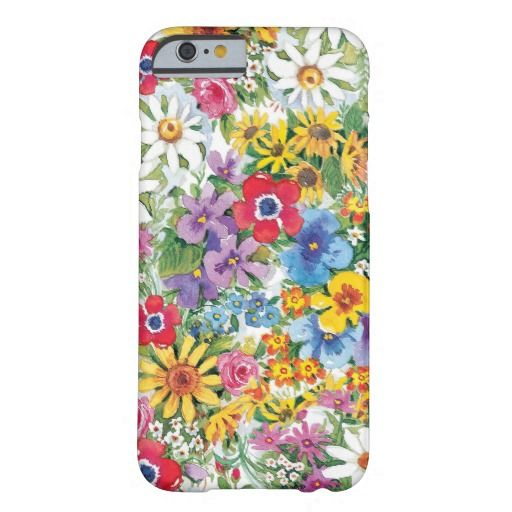 Elegant flower I phone 6 protective case