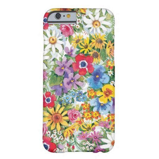 Elegant flower I phone 6 protective case