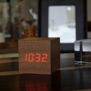 Sese Duyarlı Küp Alarm Saat - 49,90 TL #doğumgünühediyeleri