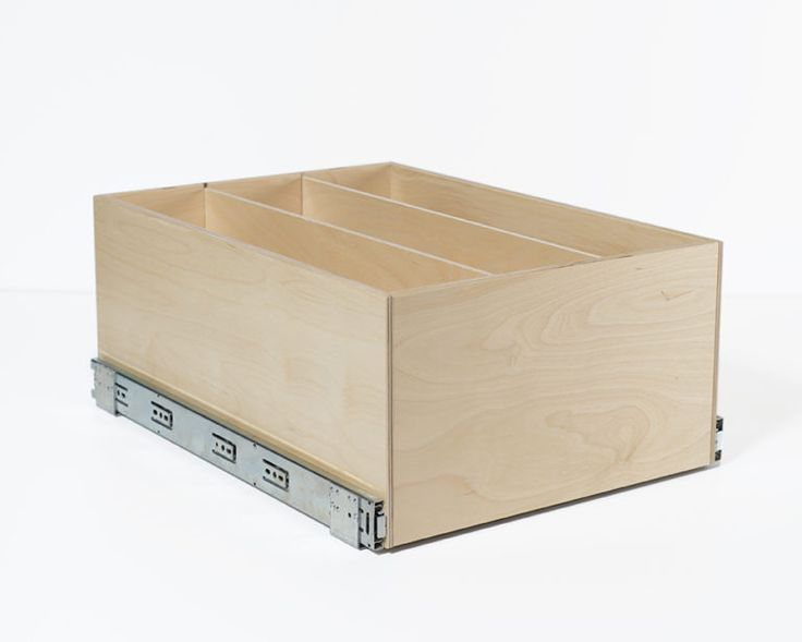 """7"""" Baltic Birch Drawer with Dividers"""