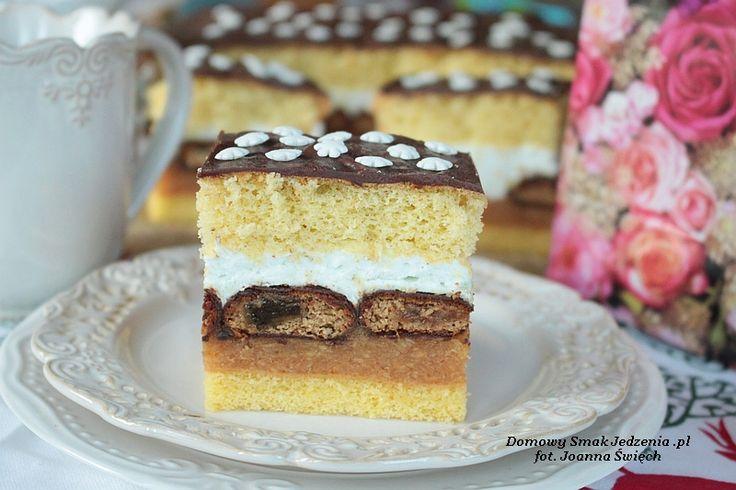 świąteczne ciasto krówka   Domowy Smak Jedzenia .pl