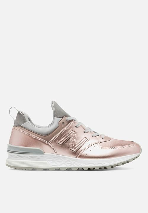 New Balance WS574SFF Metallic Pack - Pink New Balance Sneakers | Superbalist.com