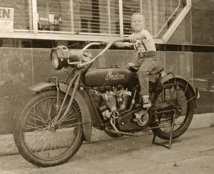little boy on motorcycle - photo #17