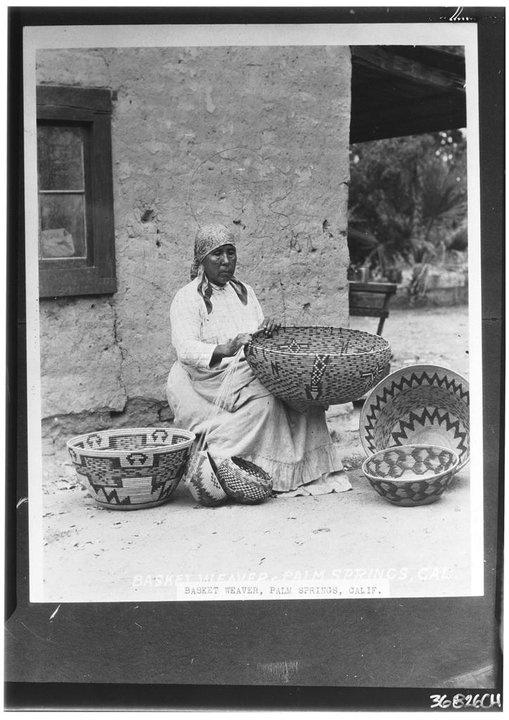 Dolores Patencio - Cahuilla - 1912  Amazing basket weaver.