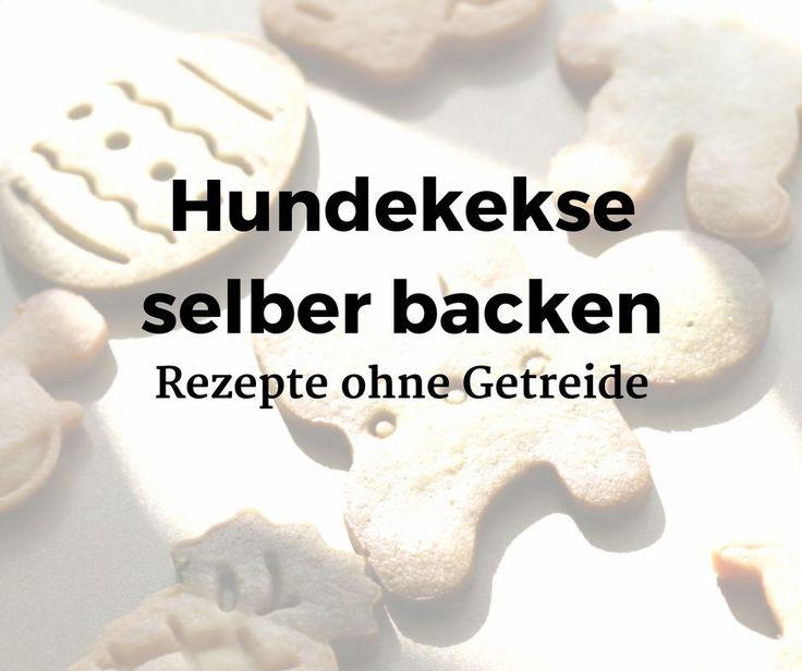 Wussten Sie schon, dass Sie Hundekekse ohne Getreide selber backen können? Hier finden Sie glutenfreie Rezepte für Reiskekse, Leberkekse und Rindfleischbällchen, einfach selbst nach-backen.