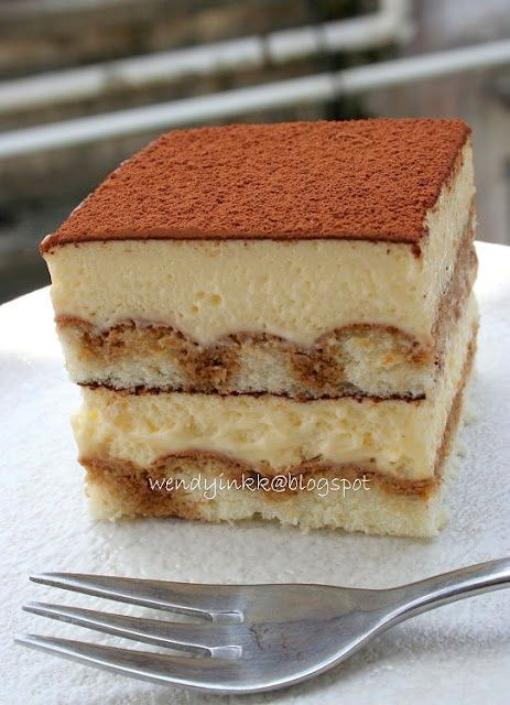 Tiramisu...would love to be able to make a great one got my hubby