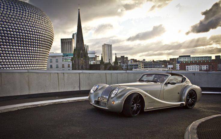 This may be my next car- Ferrari fast and throwback cool.  The Morgan Motor Company