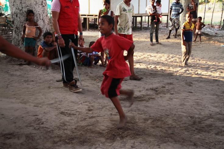 Danza de los indios Farotos en Cicuco.