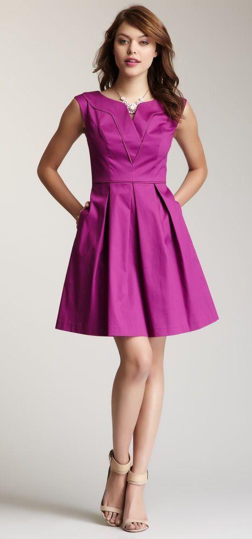 Jessica Simpson V-Neck Dress