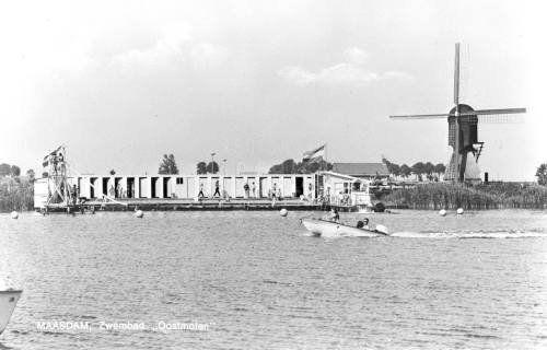 Zwembad Mijnsheerenland (jaartal: 1960 tot 1970) - Foto's SERC