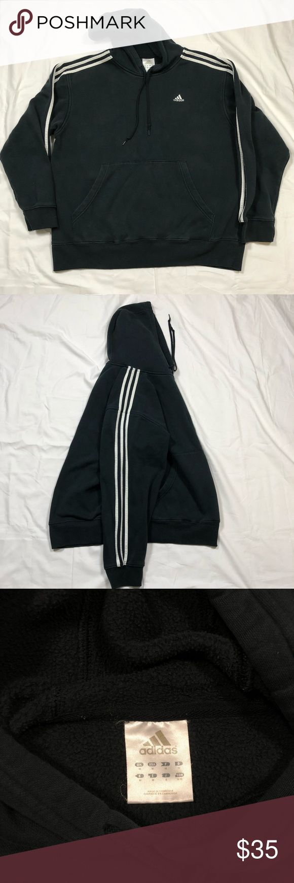 Adidas Hoodie - Men's (M) - Used  - Good condition  - Some signs of wear  NGE32614 adidas Shirts Sweatshirts & Hoodies