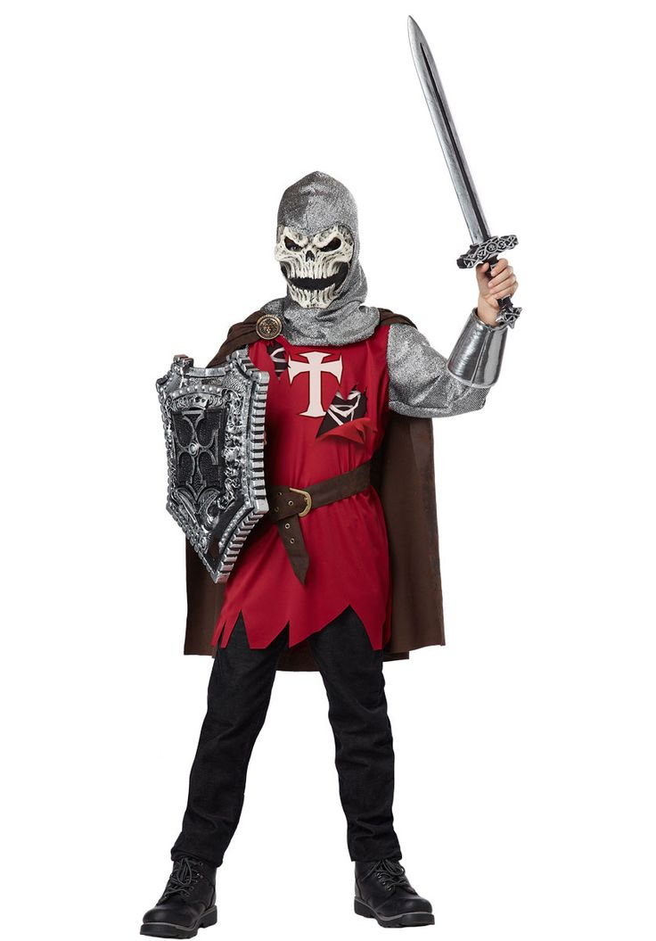 kids skull knight costume medieval horror fancy dress child halloween costumes at escapade - Pictures Of Halloween Costumes For Toddlers