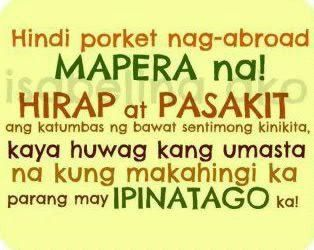 OFW quotes : Pinoy Tagalog Quotes