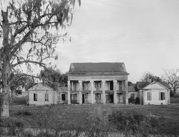 Woodlawn Plantation, Napoleonville, Louisiana. Built circa 1840 by Col. William W. Pugh, Woodlawn Plantation was one of the first houses in ...