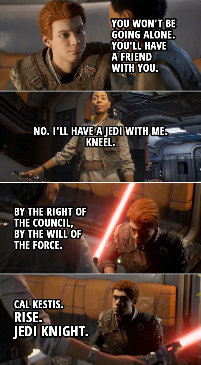 40 Best Star Wars Jedi Fallen Order Quotes Star Wars Quotes
